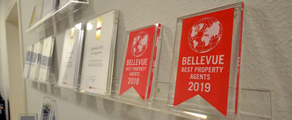 Auszeichnungen von PISA Immobilien