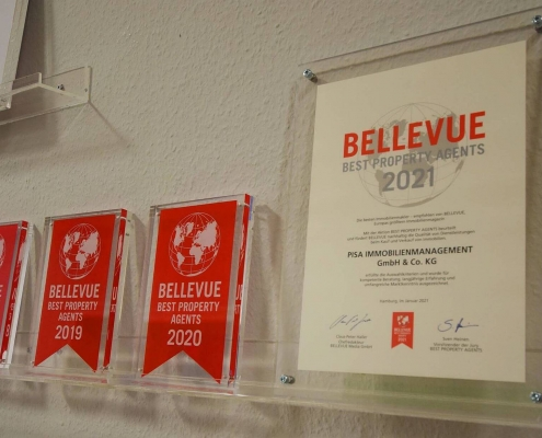 Qualitätssiegel Bellevue Best Property Agent 2021