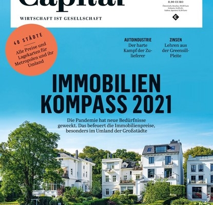 Cover Capital Immobilien-Kompass 2021