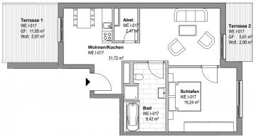 I KONSTANTINUM LEIPZIG I Ihr moderner und komfortabler Wohntraum im Zentrum-Ost I, 04315 Leipzig, Dachgeschosswohnung